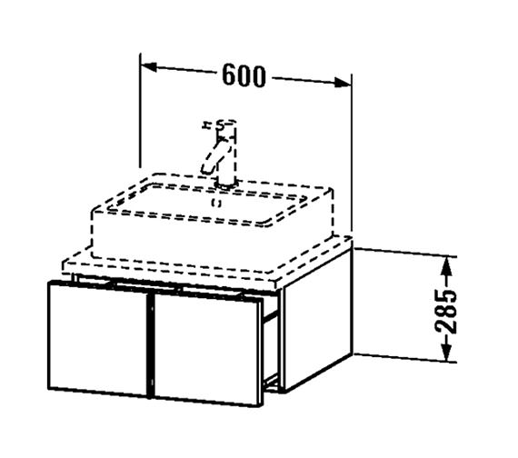 Technical drawing QS-V4333 / VE655001818