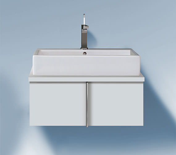 Duravit Vero 1000 x 518mm Pull Out Compartment Vanity Unit For Console