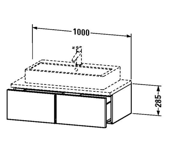 Technical drawing QS-V4335 / VE655201818