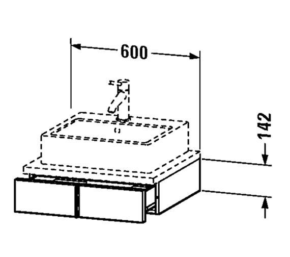 Technical drawing QS-V4336 / VE656001818