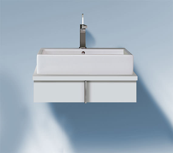 Duravit Vero 800 x 518mm Single Drawer Unit For Console - VE656101818