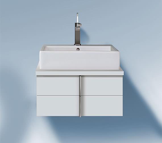 Duravit Vero Air 518mm Depth 2 Drawers Vanity Unit For Console