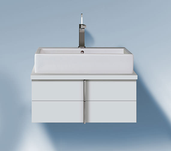 Duravit Vero 800 x 518mm 2 Drawer Unit For Console - VE657101818