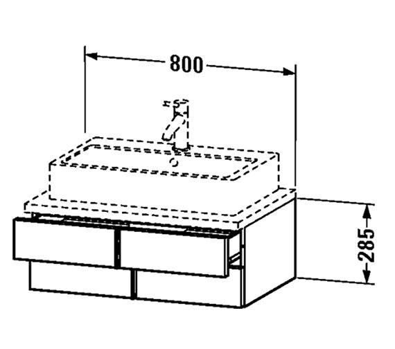 Technical drawing QS-V4340 / VE657101818
