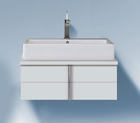 Duravit Vero 1000 x 518mm 2 Drawer Unit For Console - VE657201818