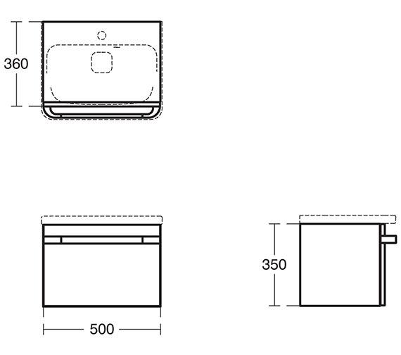 Technical drawing QS-V3475 / R4301WG