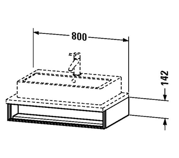 Technical drawing QS-V4331 / VE654101818
