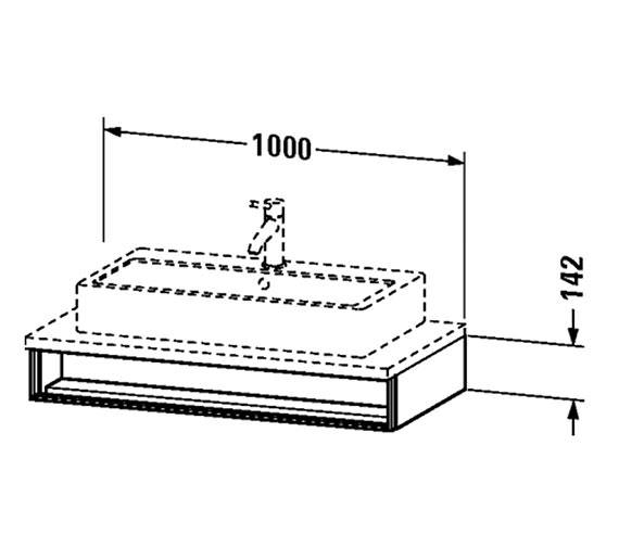 Technical drawing QS-V4332 / VE654201818