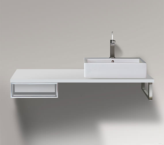 Duravit Vero 400 x 518mm Cabinet For Console - 1 Open Compartment