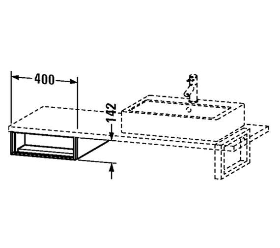 Technical drawing QS-V4343 / VE654701818