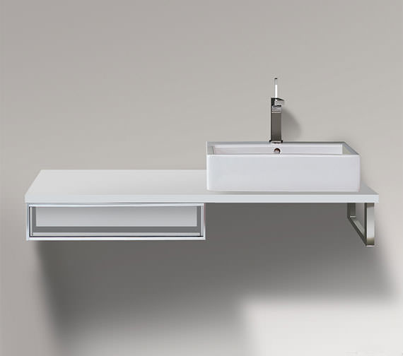 Duravit Vero 600 x 518mm Cabinet For Console - 1 Open Compartment