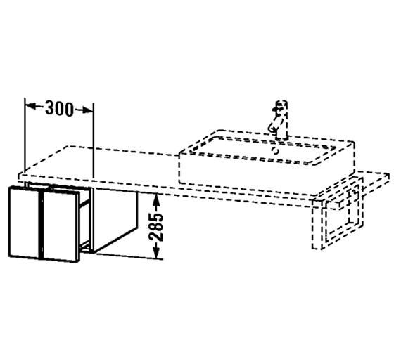 Technical drawing QS-V4346 / VE655601818