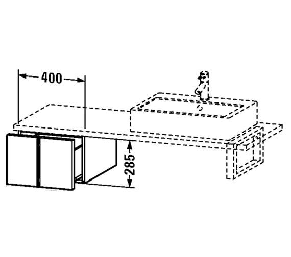 Technical drawing QS-V4347 / VE655701818
