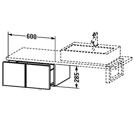 Technical drawing QS-V4349 / VE655901818