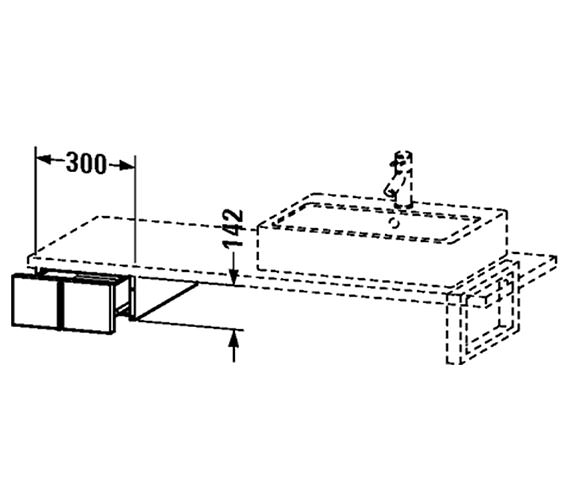 Technical drawing QS-V4350 / VE656601818