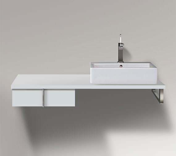 Duravit Vero 500 x 518mm 1 Drawer Cabinet For Console - VE656801818