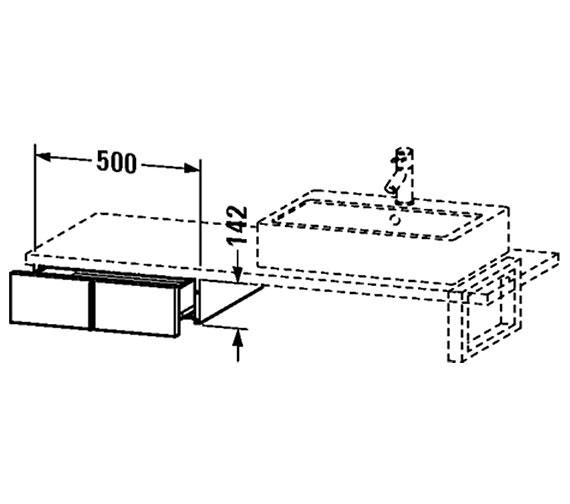 Technical drawing QS-V4352 / VE656801818