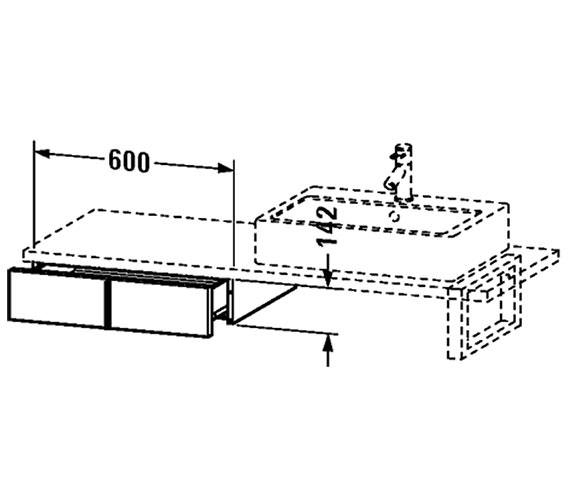 Technical drawing QS-V4353 / VE656901818