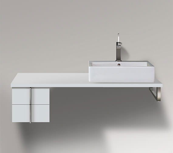 Duravit Vero 300 x 518mm 2 Drawer Cabinet For Console - VE657601818