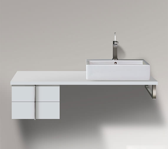 Duravit Vero 400 x 518mm 2 Drawer Cabinet For Console - VE657701818