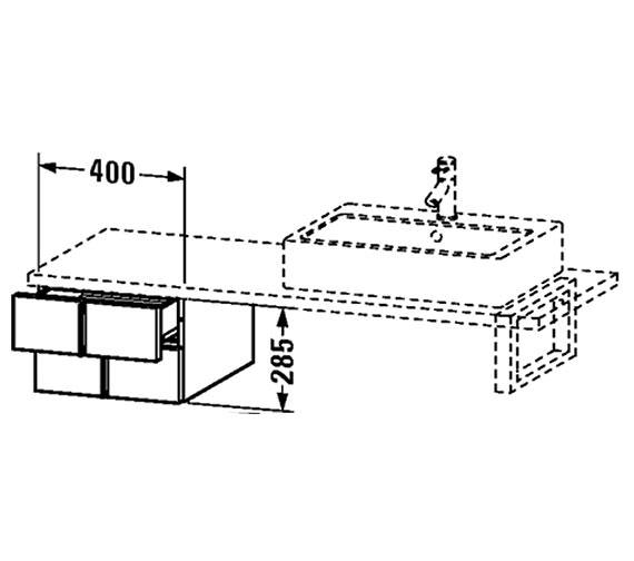 Technical drawing QS-V4355 / VE657701818