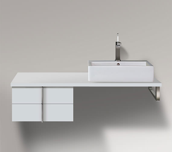 Duravit Vero 500 x 518mm 2 Drawer Cabinet For Console - VE657801818