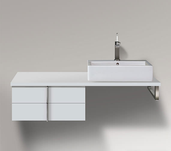 Duravit Vero 600 x 518mm 2 Drawer Cabinet For Console - VE657901818