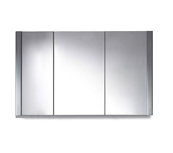 Duravit 1200 x 660mm 3 Door Mirror Cabinet - LM977303737