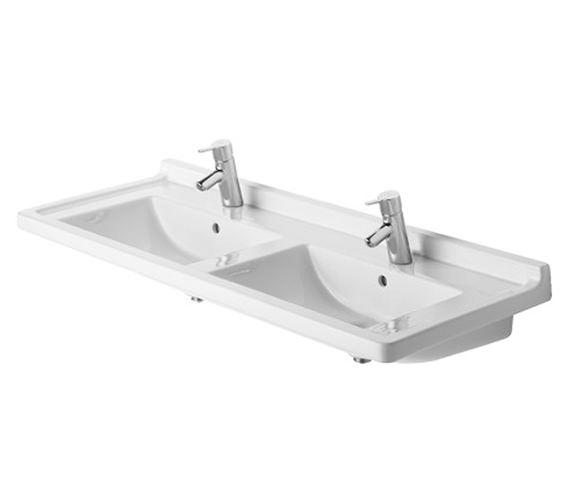 Duravit Starck 3 1300mm Double Furniture Washbasin - 0332130000