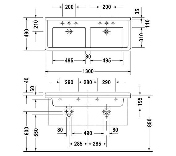Technical drawing QS-V6348 / 0332130000