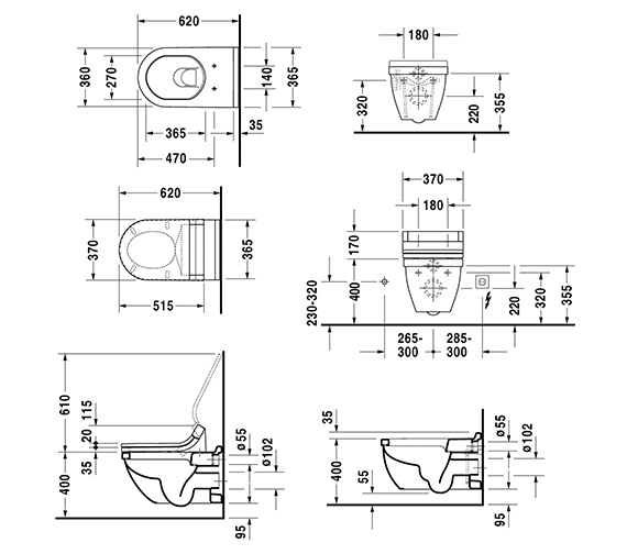 Technical drawing QS-V52843 / 2226090000