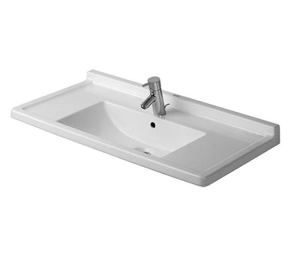 Duravit Starck 3 850mm 1 Taphole Furniture Washbasin - 0304800000