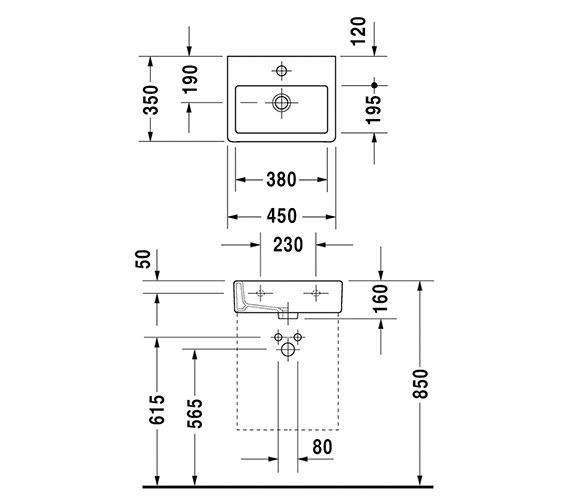 Technical drawing QS-V6351 / 0704450000