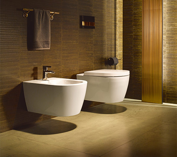Duravit ME By Starck 370 x 570mm Wall Mounted Bidet