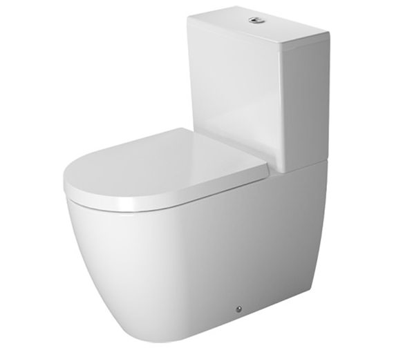 Duravit ME by Starck Close Coupled Toilet With Cistern