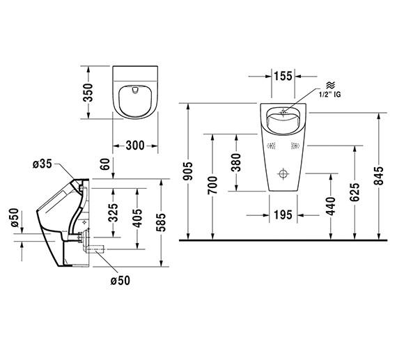 Technical drawing QS-V6368 / 2809300000