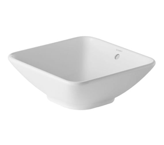 Duravit ME By Starck 420mm Square Washbowl - 0333420000