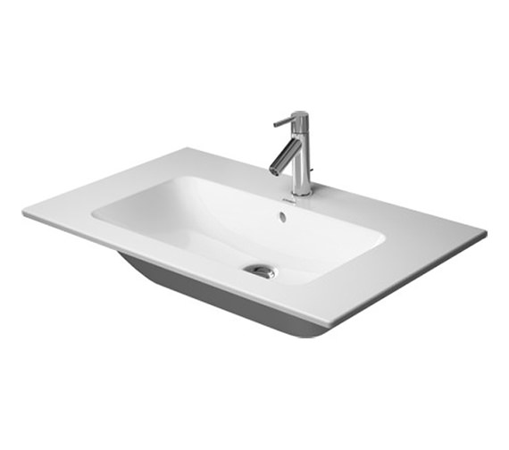 Duravit ME By Starck 830mm 1 Taphole Furniture Washbasin - 233683