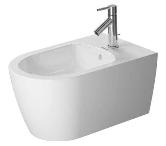 Duravit ME By Starck 370 x 570mm Wall Mounted Bidet - 2288150000