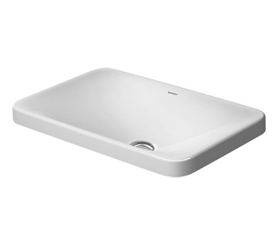 Duravit P3 Comforts 550mm Countertop Basin - 0377550000