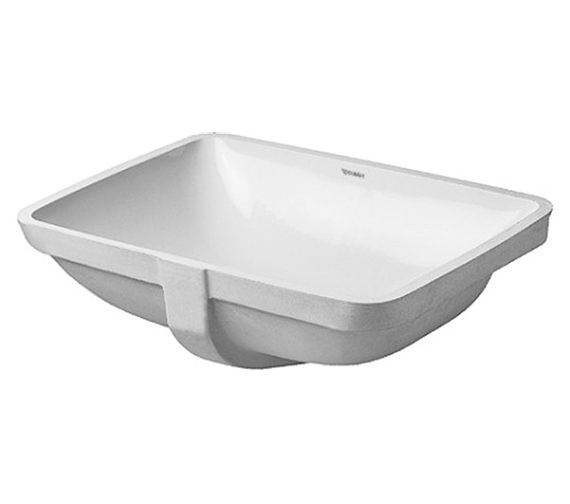 Duravit P3 Comforts 490mm Grinded Vanity Basin - 0305490022