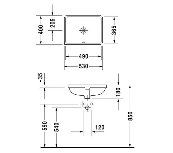 Technical drawing QS-V6387 / 0305490000