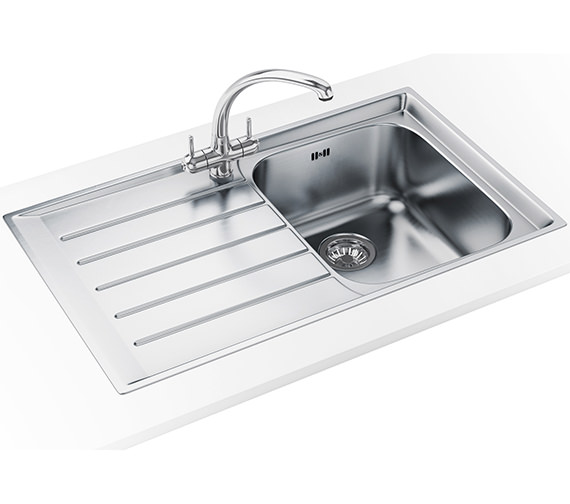 Franke Neptune Propack NEX 211 Stainless Steel Kitchen Sink And Tap