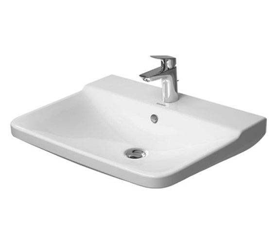 Duravit P3 Comforts 650mm 1 Taphole Washbasin - 2331650000
