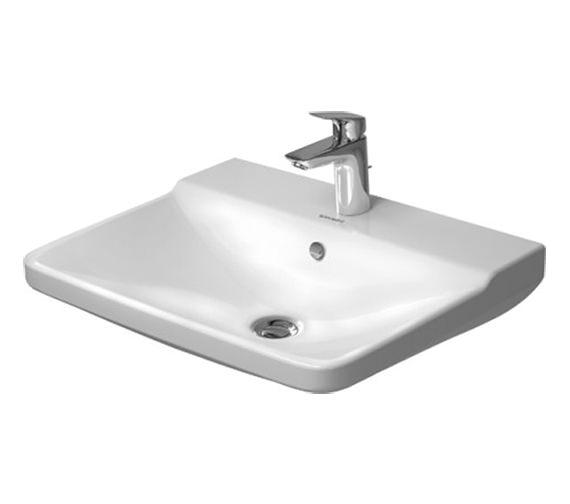 Duravit P3 Comforts 600mm 1 Taphole Washbasin - 2331600000