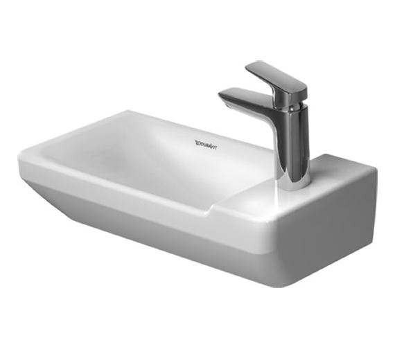 Duravit P3 Comforts 500mm 1 Taphole Handrinse Basin - 0715500000