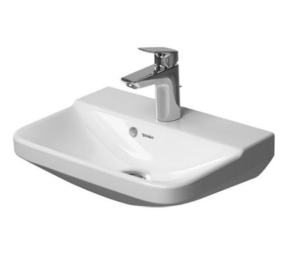 Duravit P3 Comforts 450mm 1 Taphole Handrinse Basin - 0716450000
