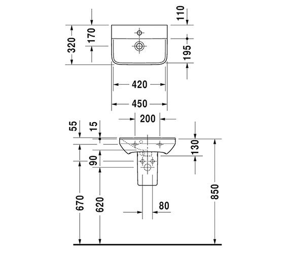 Technical drawing QS-V6375 / 0716450000