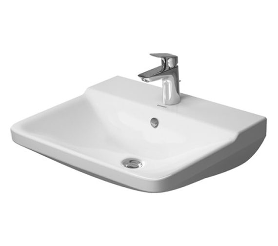 Duravit P3 Comforts 550mm 1 Taphole Washbasin - 600mm And 650mm Available