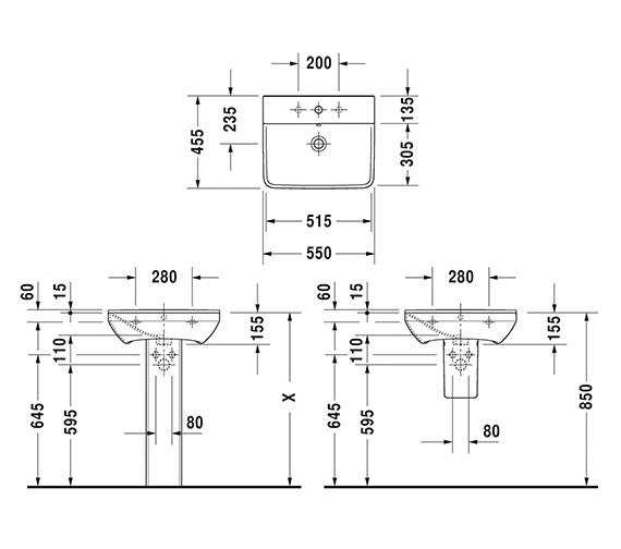 Technical drawing QS-V6373 / 2331550000